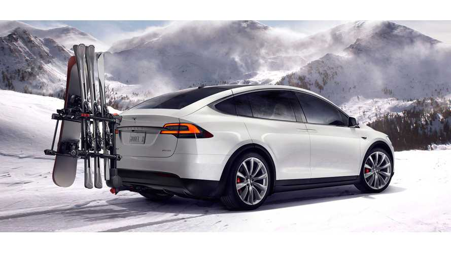 Installing A Trailer Hitch On A Tesla Model X - Video