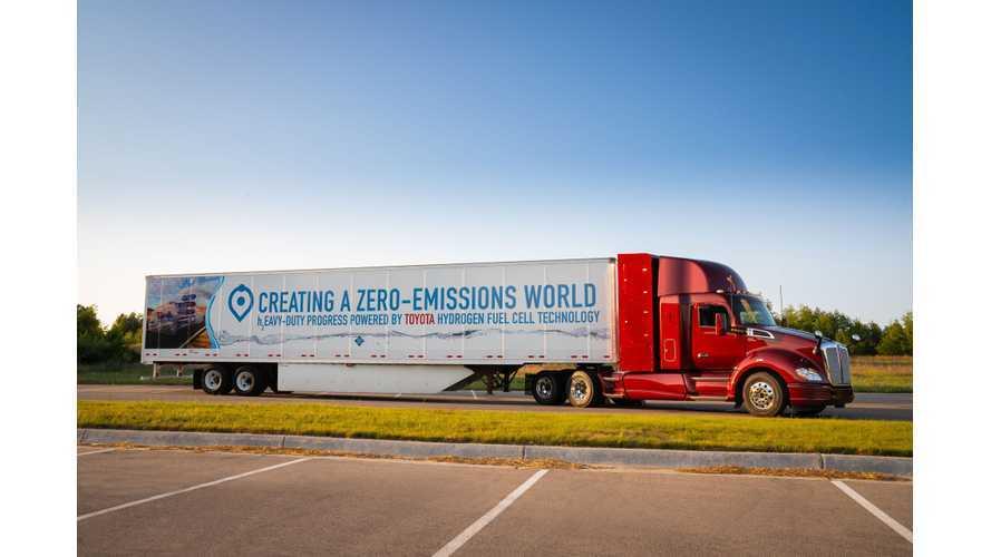 Toyota Reveals Second Gen Class 8 Hydrogen Fuel Cell Truck