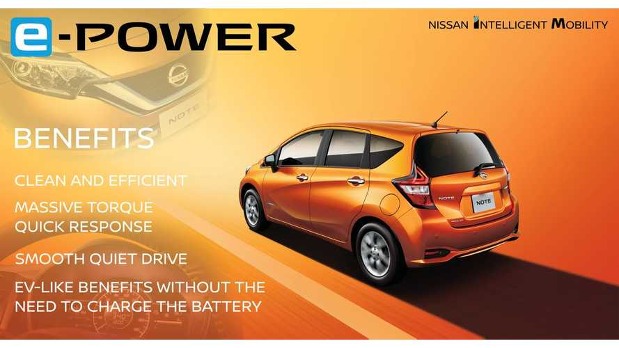 Nissan Reveals e-POWER, Electric Motor Powered Hybrid That Could Foreshadow Future PHEV