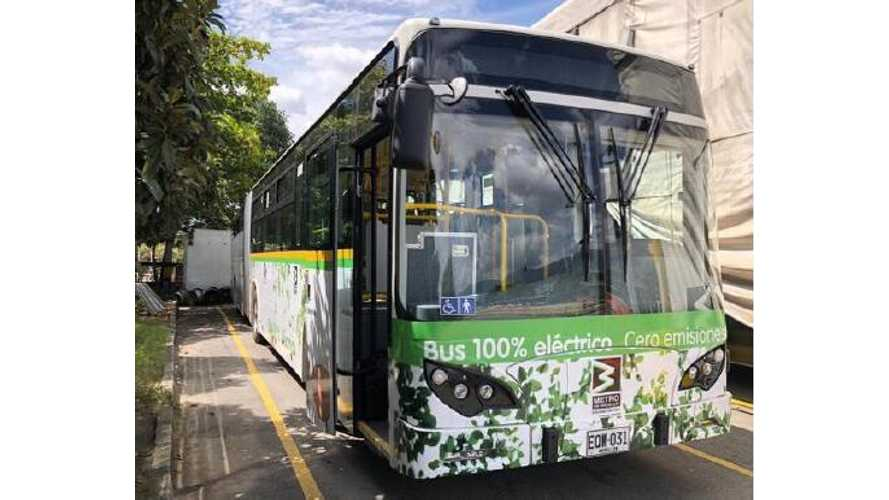 Colombia's Medellín Orders 64 BYD Electric Buses
