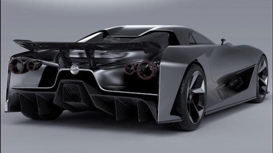 Nissan 2020 Vision Gran Turismo diventa realtà