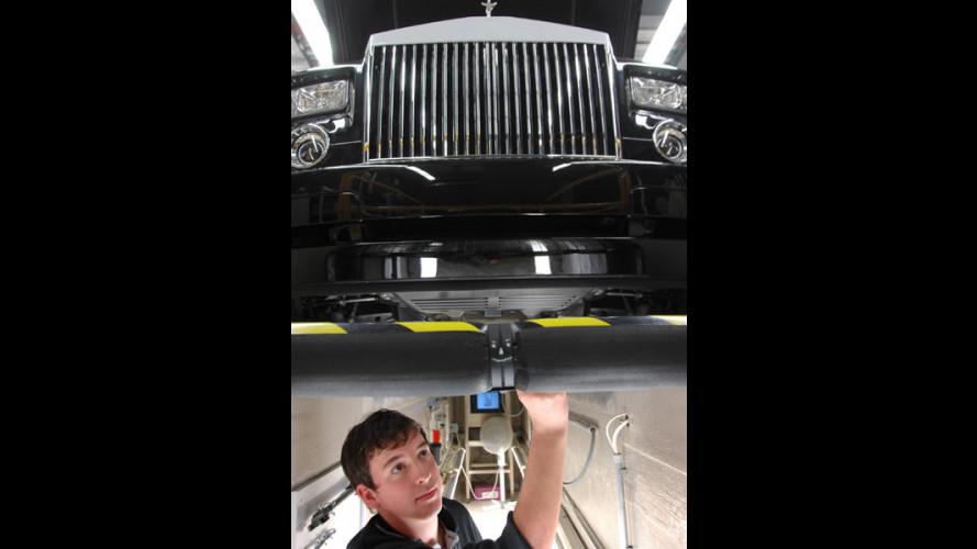 Uno stage... alla Rolls Royce!