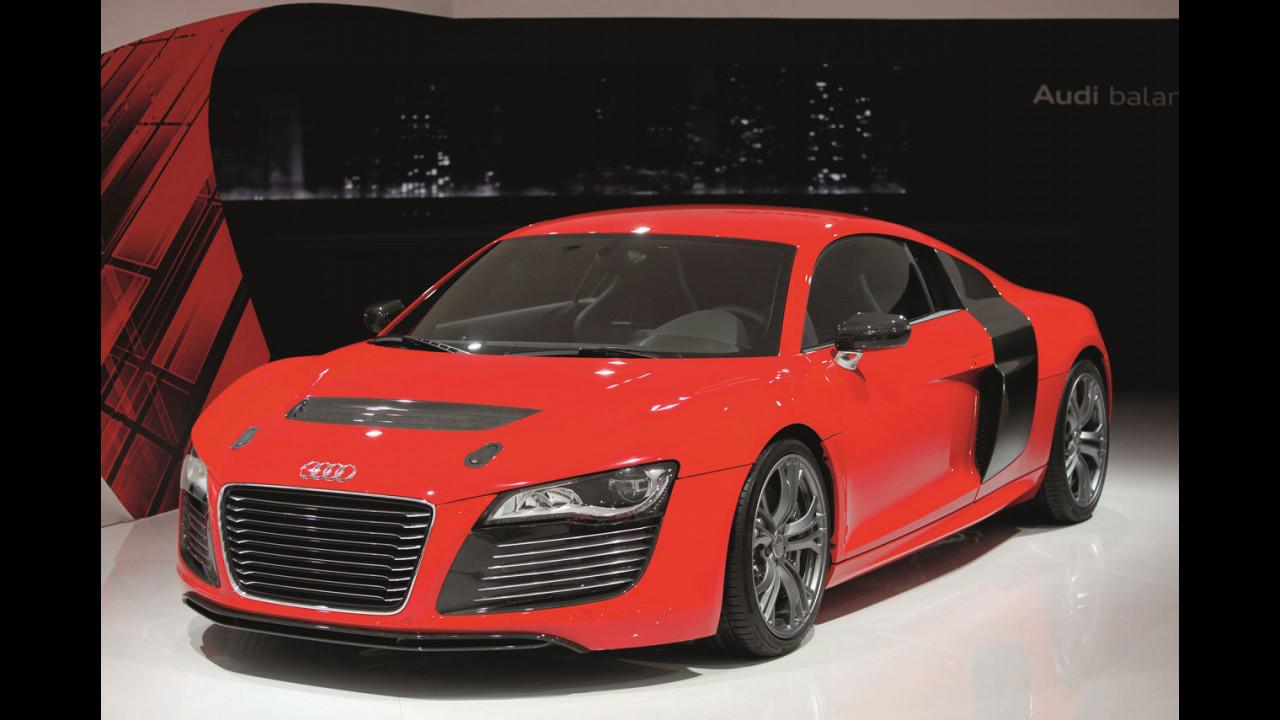 Audi R8 e-tron a Francoforte