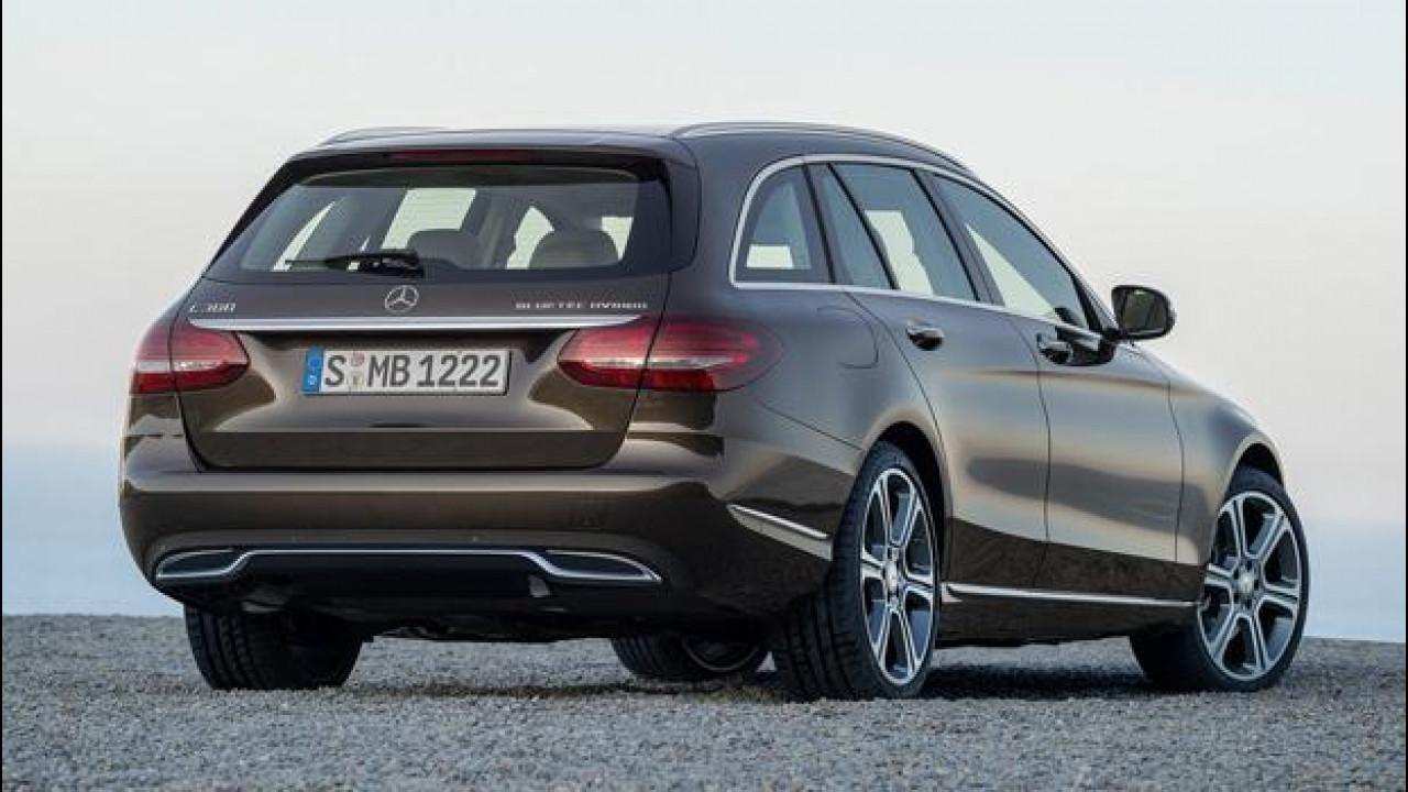 [Copertina] - Nuova Mercedes Classe C Station Wagon, è cresciuta e si vede