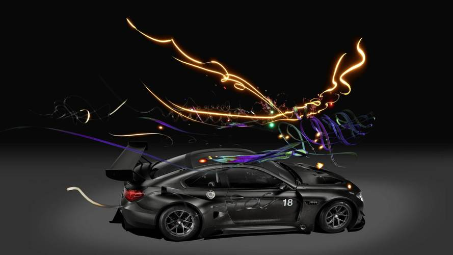 BMW M6 GT3 Art Car