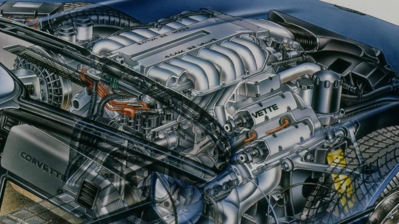 5.7-liter LT5 DOHC V8