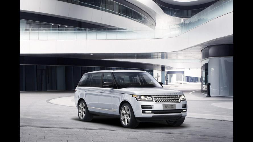 Range Rover Hybrid Long Wheelbase, quella a passo lungo