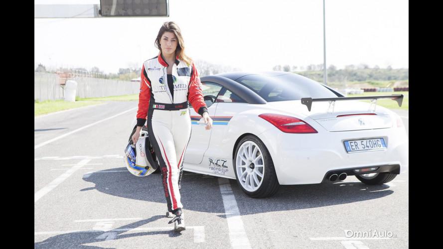 Peugeot RCZ, il Game4Test con Vicky Piria