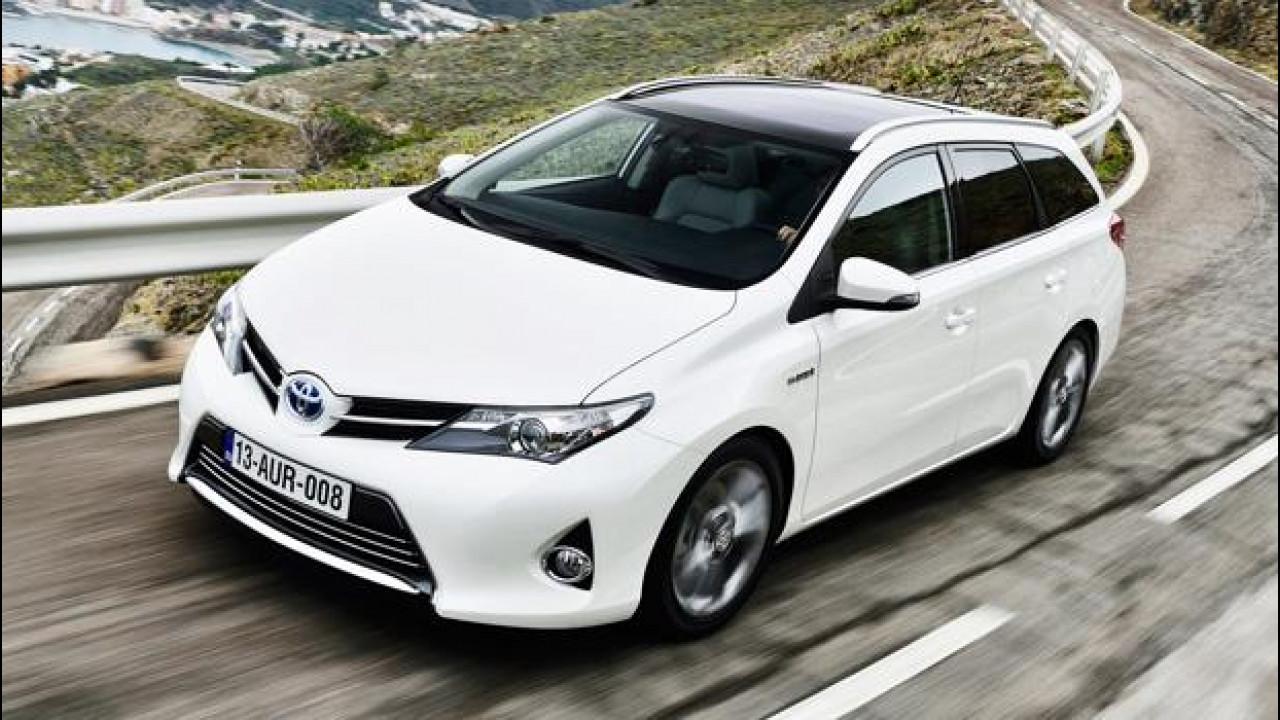 [Copertina] - Incentivi auto 2014: Toyota risponde con nove ibride