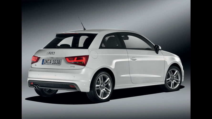 Audi A1 TFSI 185 CV, il top gamma costa 26.500 euro