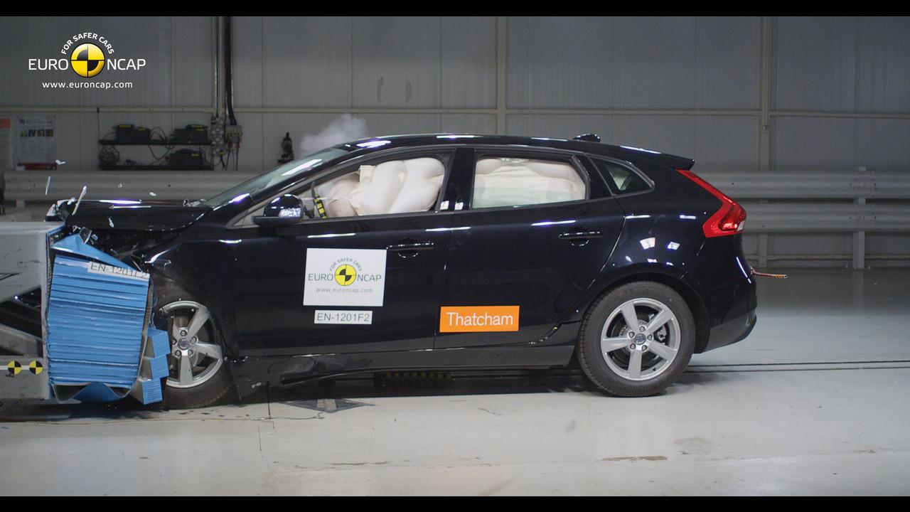 Crash test Volvo V40