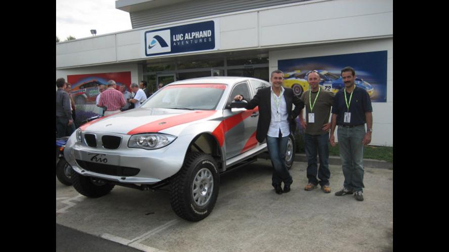 BMW Serie 1 versione 4X4 sogna Dakar