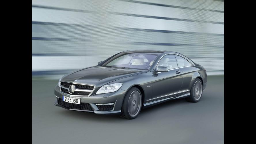 Nuova Mercedes CL: prezzi
