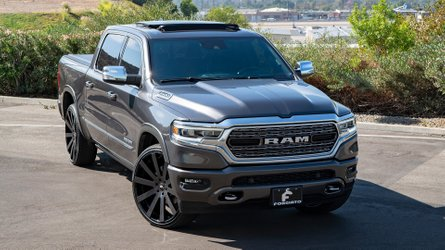 Shaq's New Ram 1500 Wears Massive 26-Inch Forgiato Wheels