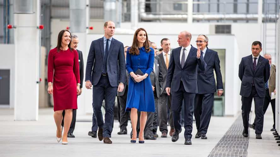 Royal guests officially open second McLaren production facility