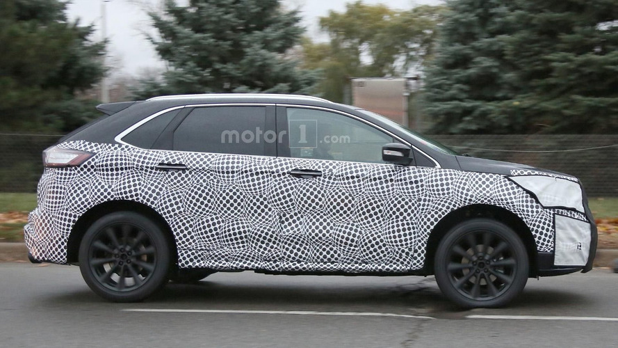 Ford Edge Vignale spied in Michigan