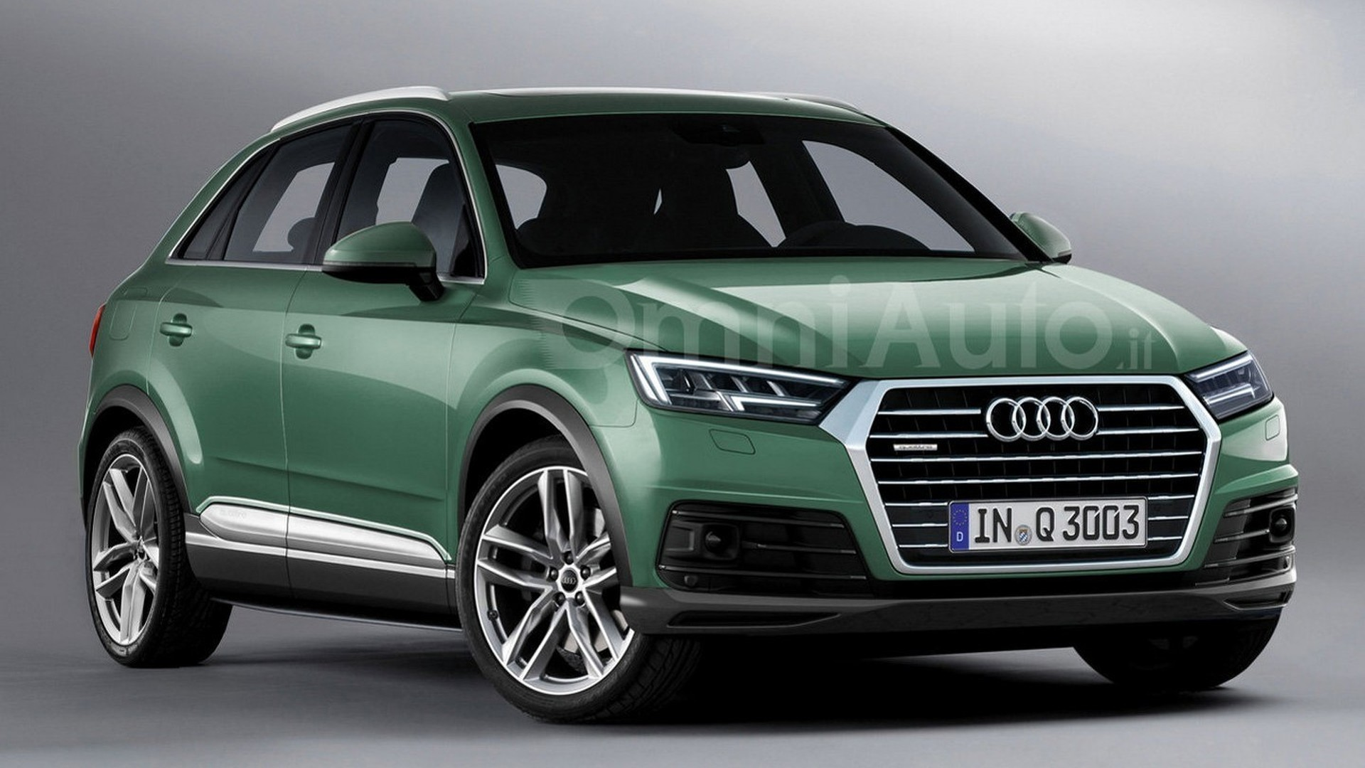 Audi Q Render Points Towards Predictable Design Evolution - 2018 audi q3