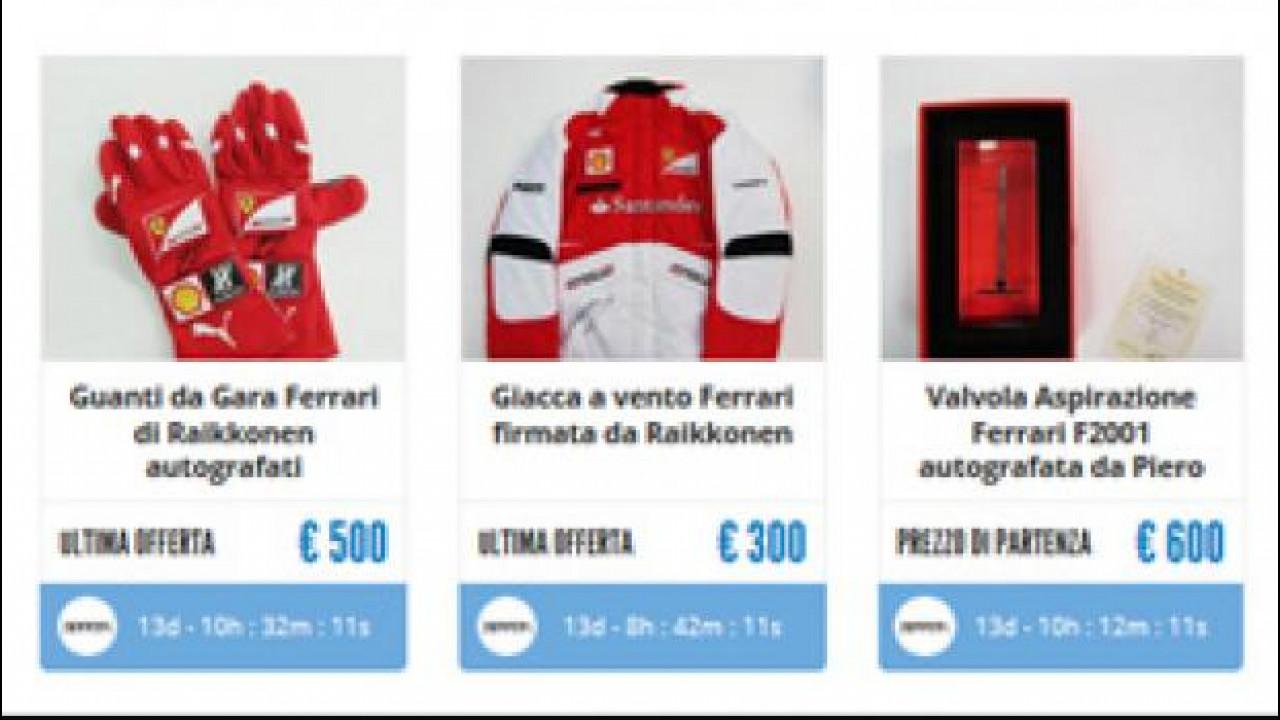 [Copertina] - Ferrari, pezzi unici all'asta per beneficenza