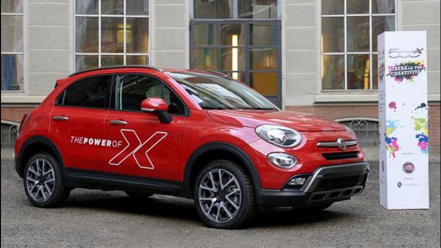 Fiat 500X diventa un concorso per giovani
