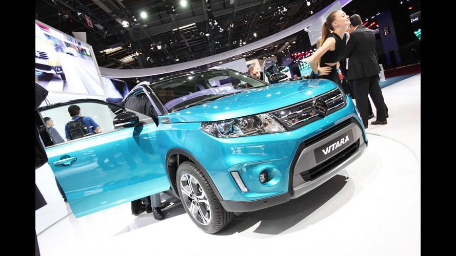 Salone di Parigi, la Suzuki Vitara è tornata