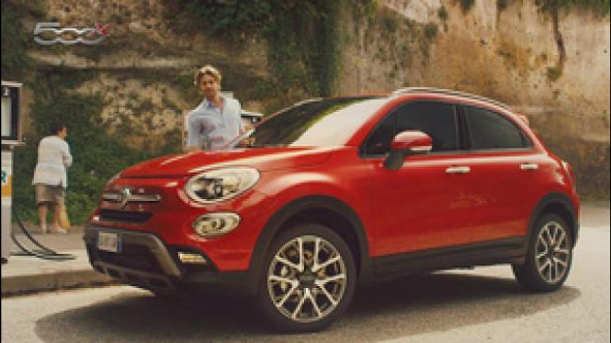 """Fiat 500X, in onda lo spot sulla """"pillola blu"""""""