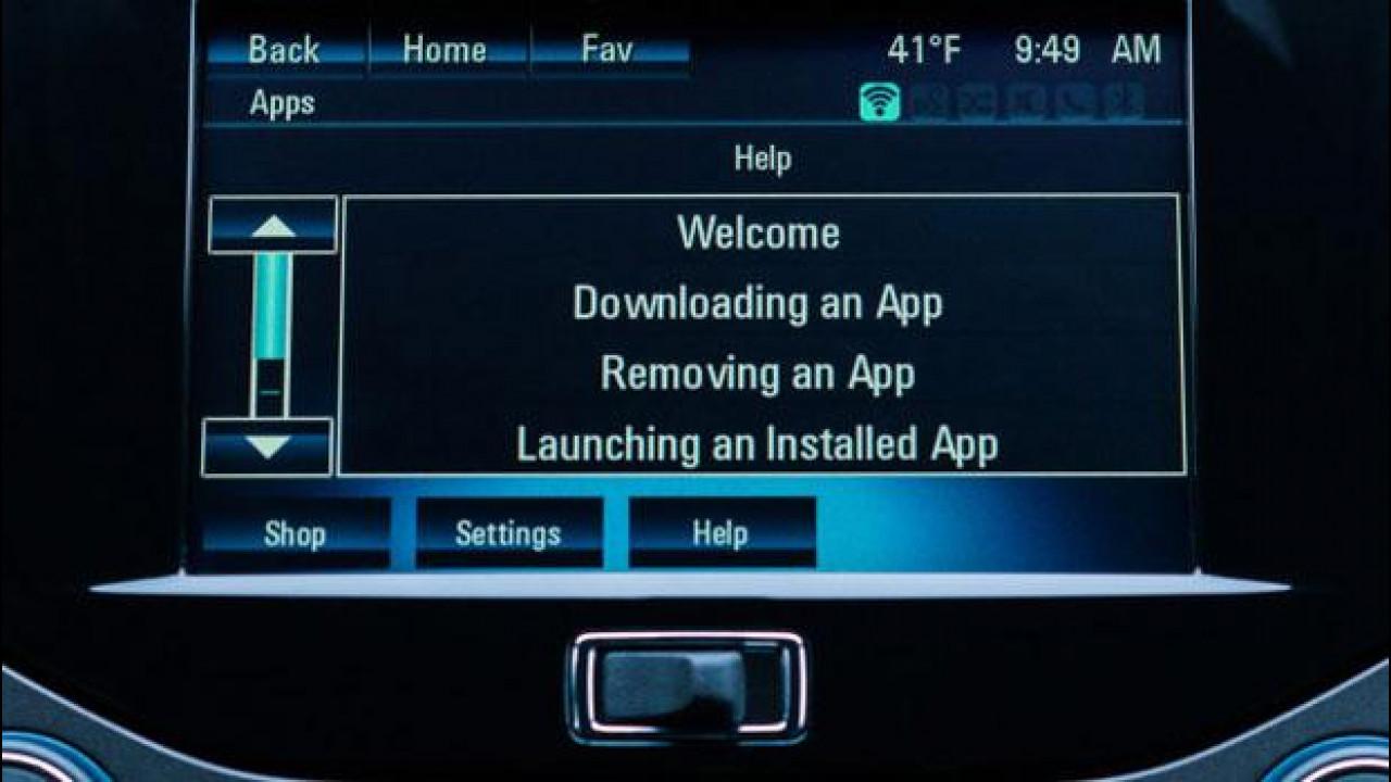 [Copertina] - GM: sulle auto le app come negli smartphone