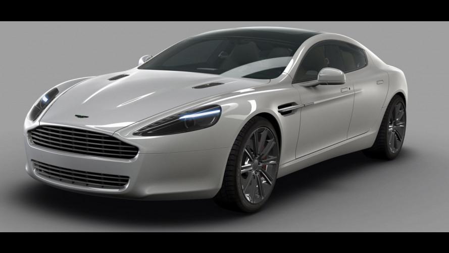 Aston Martin Rapide, quella vera