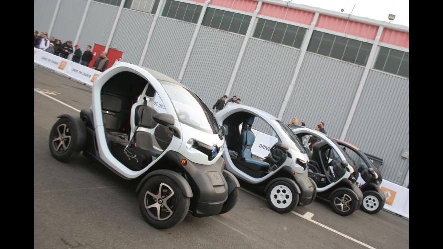 Renault Twizy, cosa ne pensano gli italiani