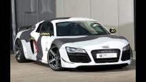 Audi R8, mimetica al carbonio