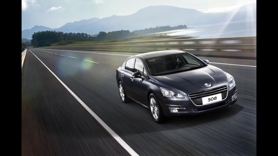 Peugeot porta a Shanghai la 508 e una concept ibrida