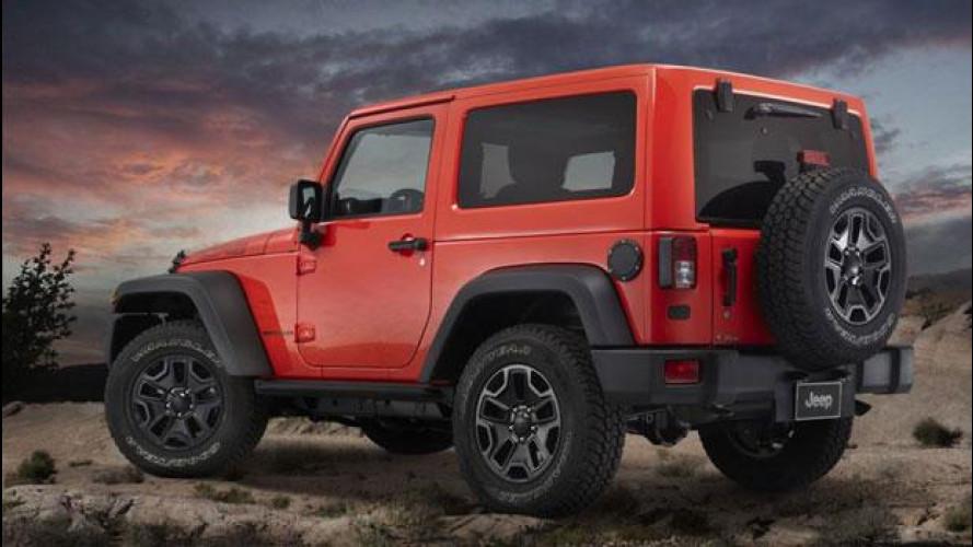 Nuova Jeep Wrangler Moab, prezzo da 39.300 euro