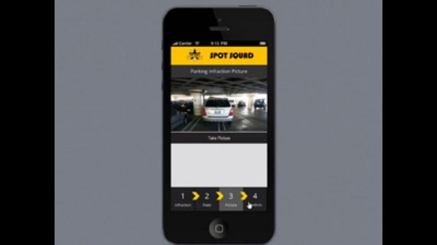 Multe e verbali: un'app trasforma i cittadini in poliziotti