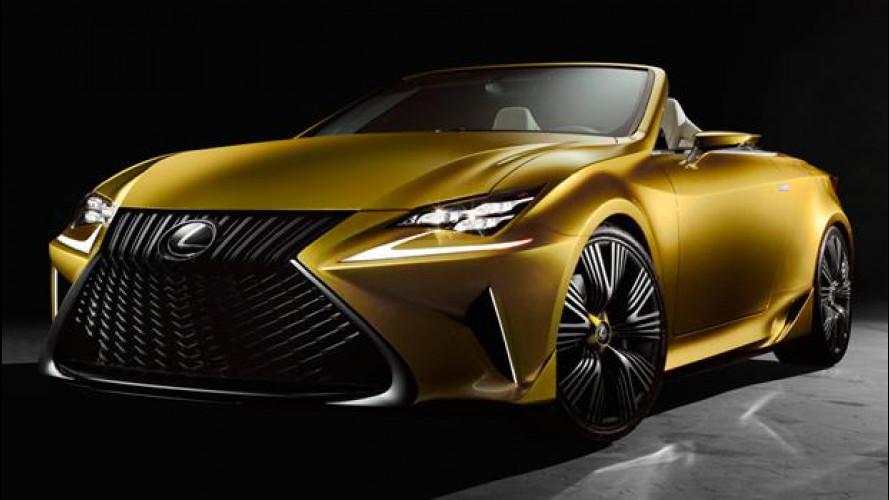 LF-C2 concept, così Lexus gioca con la luce