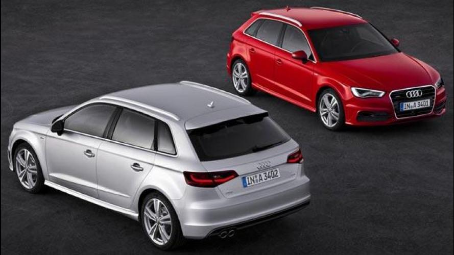 Audi A3 e A3 Sportback, le nuove motorizzazioni