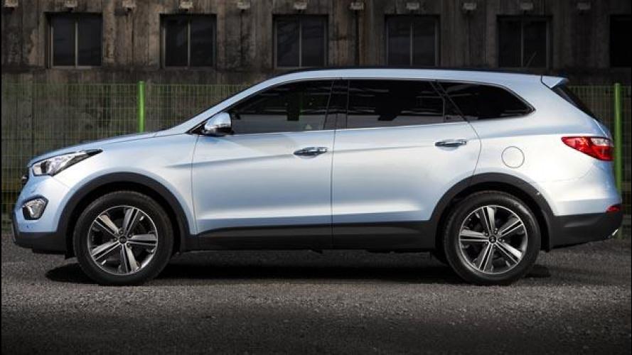"""Hyundai Grand Santa Fe, SUV versione """"limousine"""""""