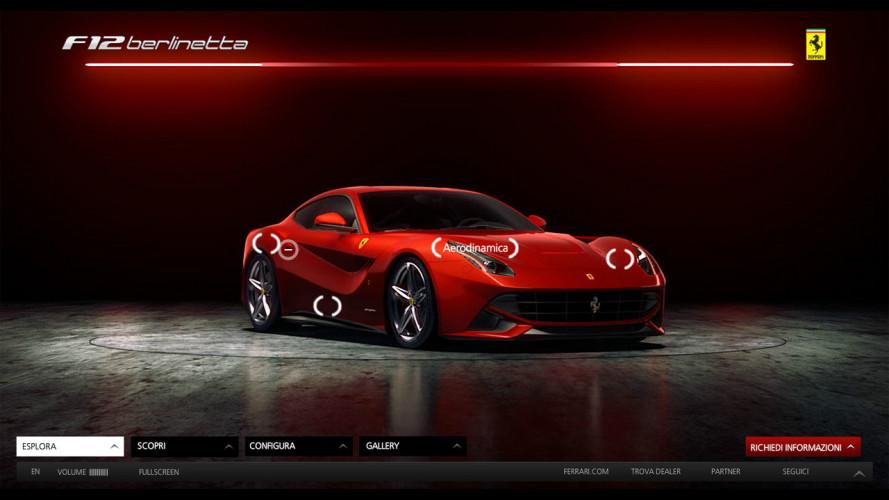 La Ferrari F12berlinetta è online