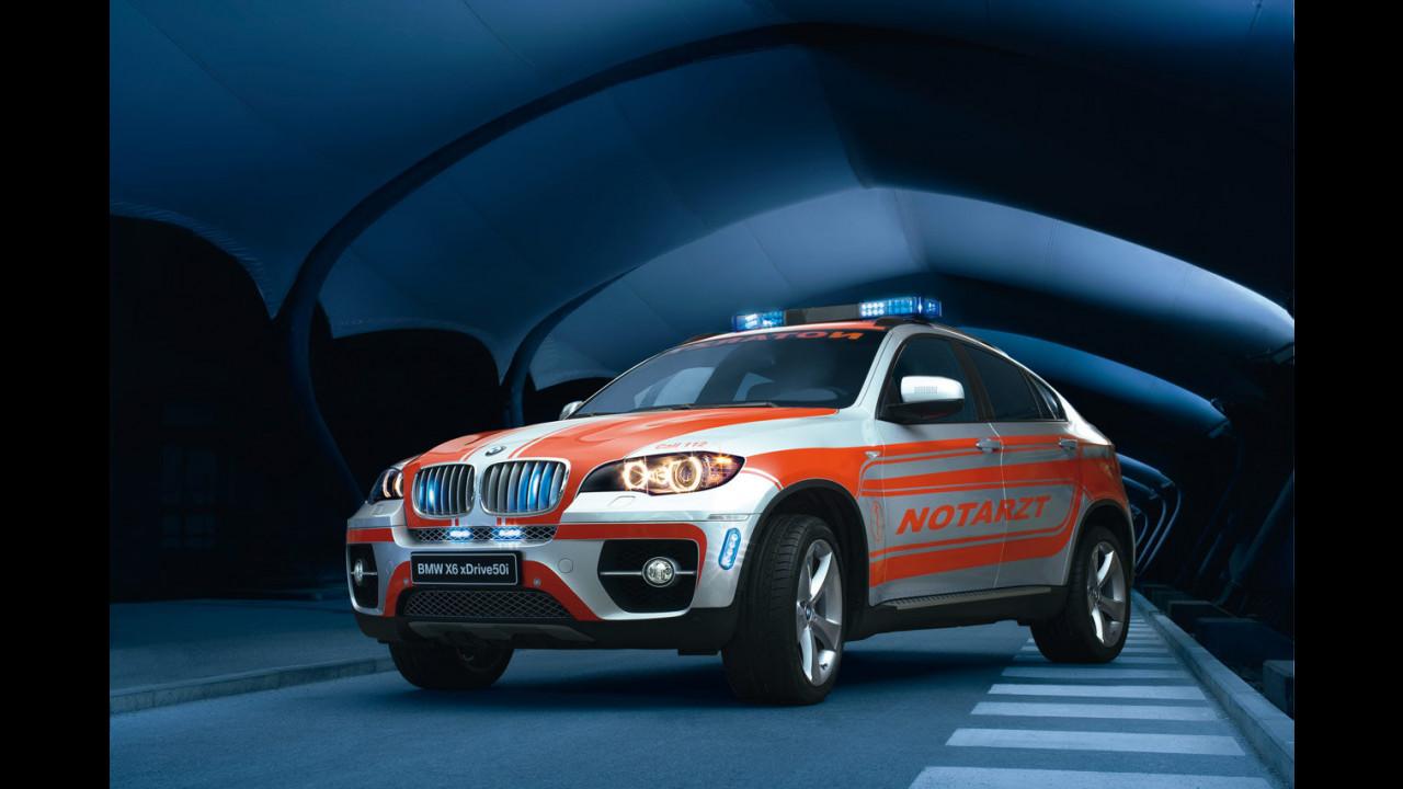 BMW X6 xDrive50i Ambulanza