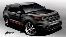 2011 Ford Explorer by Stitchcraft Interiors for SEMA - 25.10.2011