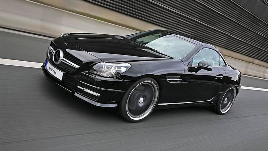 Mercedes SLK tuned by Väth