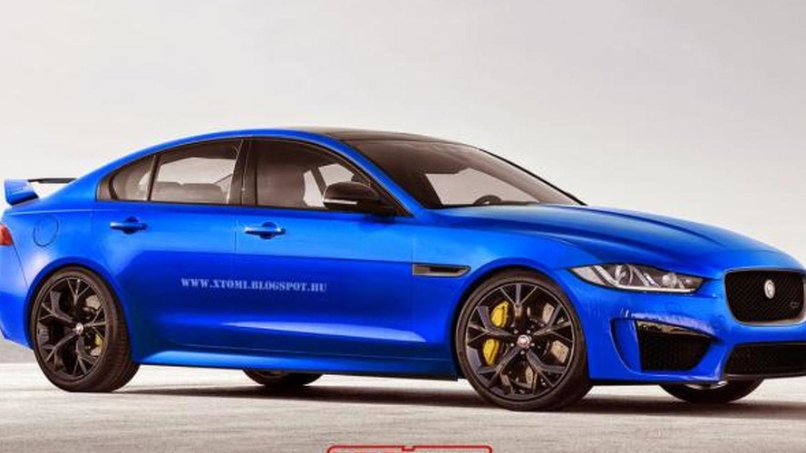 Jaguar XE imagined as an SVR range-topping model