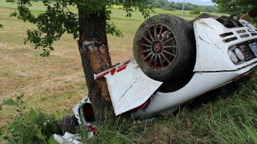 McLaren F1 severely damaged after crash in Italy