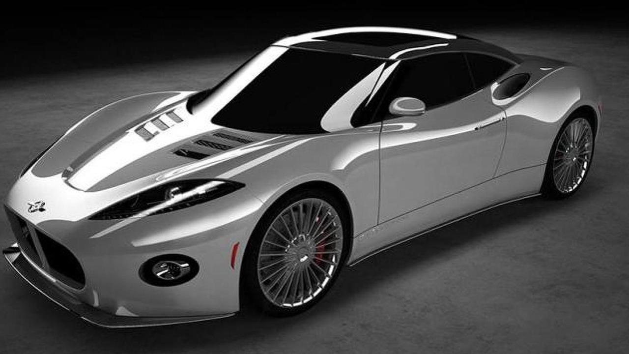 Spyker B6 Venator updated rendering
