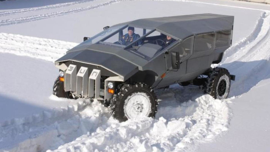 ZIL concept army car is Russia's next Humvee, could be ready in 2015