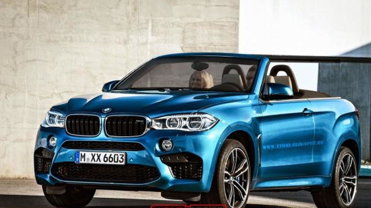 BMW X6 M convertible rendering / X-Tomi Design