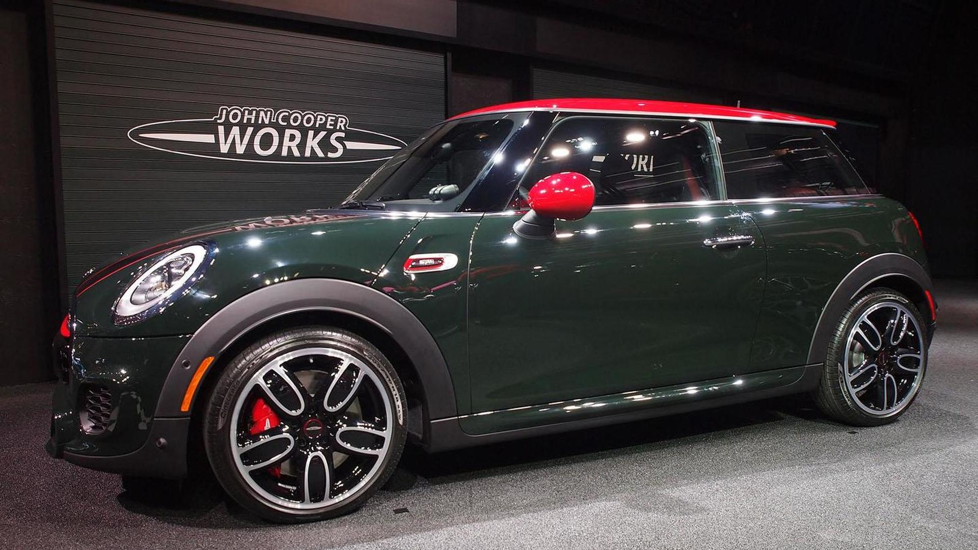 Mini Cooper Jcw Arrives In Detroit Us Pricing Announced