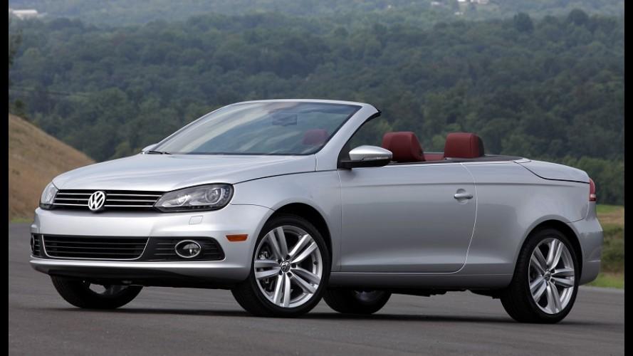 Volkswagen Eos vai se despedir do mercado neste ano sem deixar sucessor