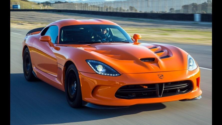 Dodge volta atrás e paralisa produção do Viper pela segunda vez