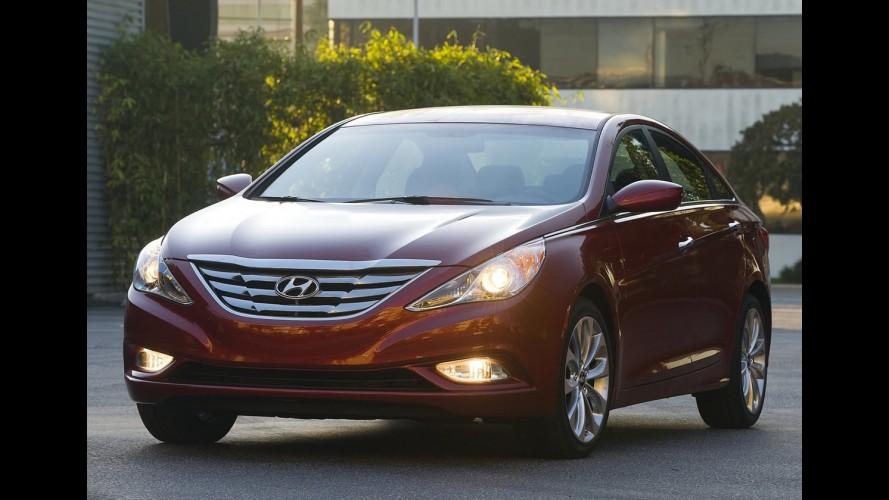 """Próxima geração do Hyundai Sonata terá estilo """"Fluidic Precision"""""""