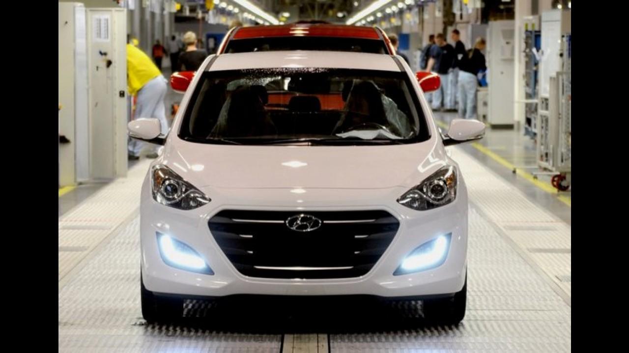 Novo i30 começa a ser produzido; câmbio de dupla embreagem e turbo são destaques