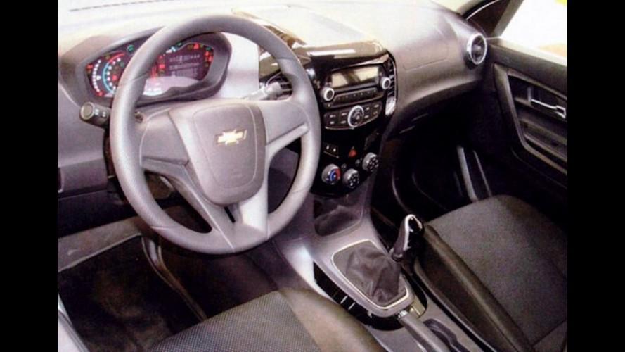 """Flagra: veja o interior do novo Chevrolet Niva, o """"EcoSport da GM"""""""